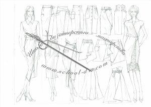 Рисунок для модельера Школа дизайнерского мастерства