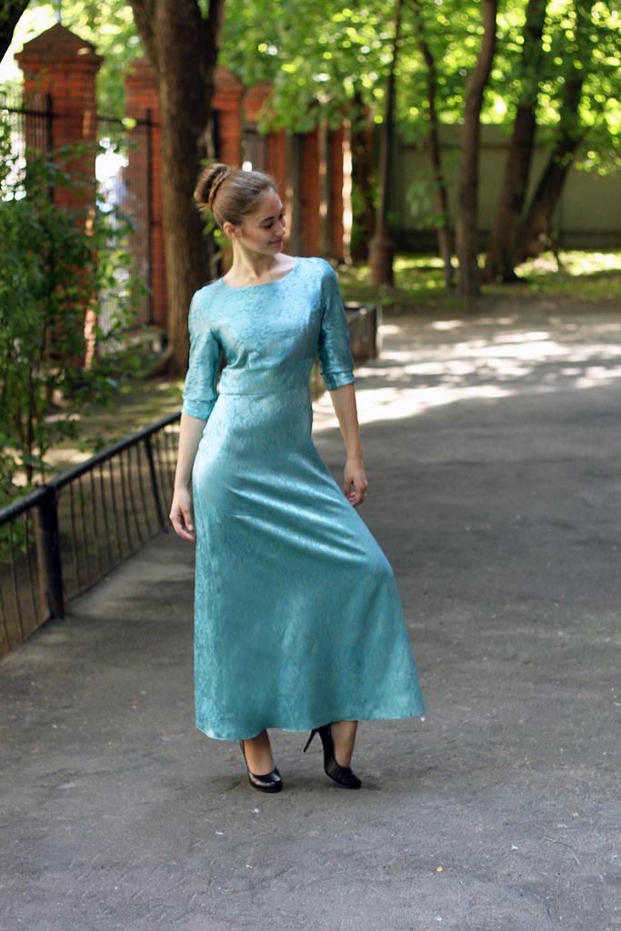 Платье на выпускной вечер - шить на курсах Школа дизайнерского мастерства Елизаветы Добрицкой