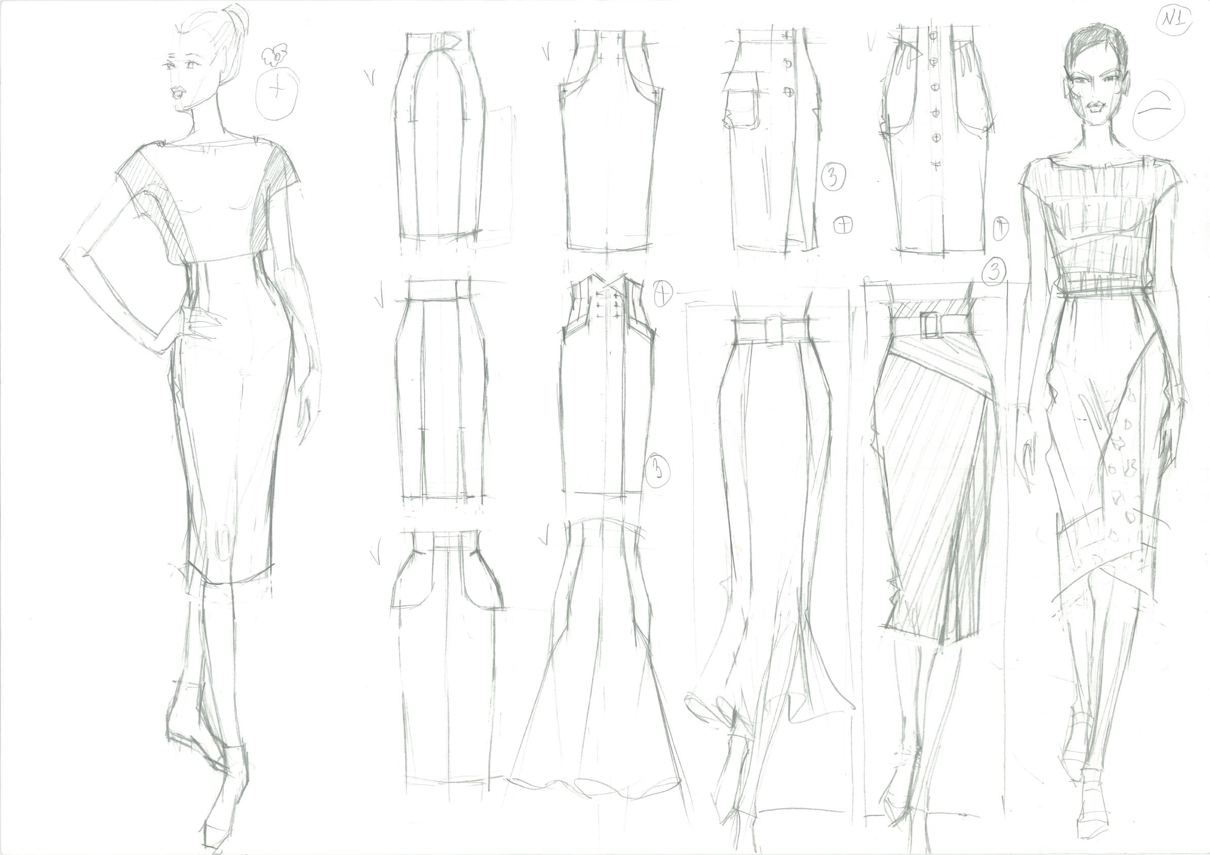 Рисунок для модельера. Школа дизайнерского мастерства