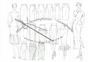 Курсы для дизайнеров Рисунок для модельера