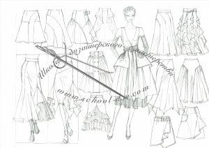 Рисунок для модельера Школа дизайна