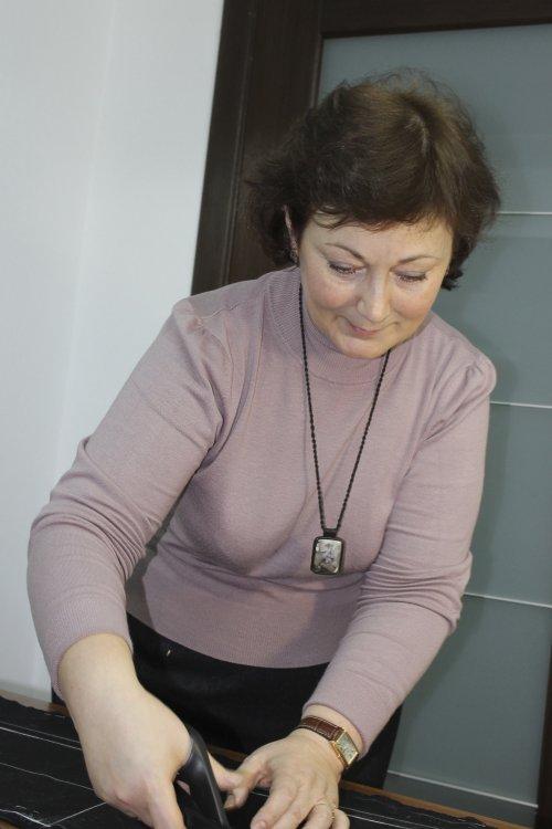Маргарита в Школе дизайнерского мастерства Елизаветы Добрицкой