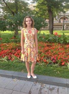 Курсы кройки и шитья Платье для дочки в Школе Елизаветы Добрицкой