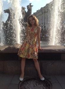 Курсы кройки и шитья Платье для девочки в Школе Елизаветы Добрицкой