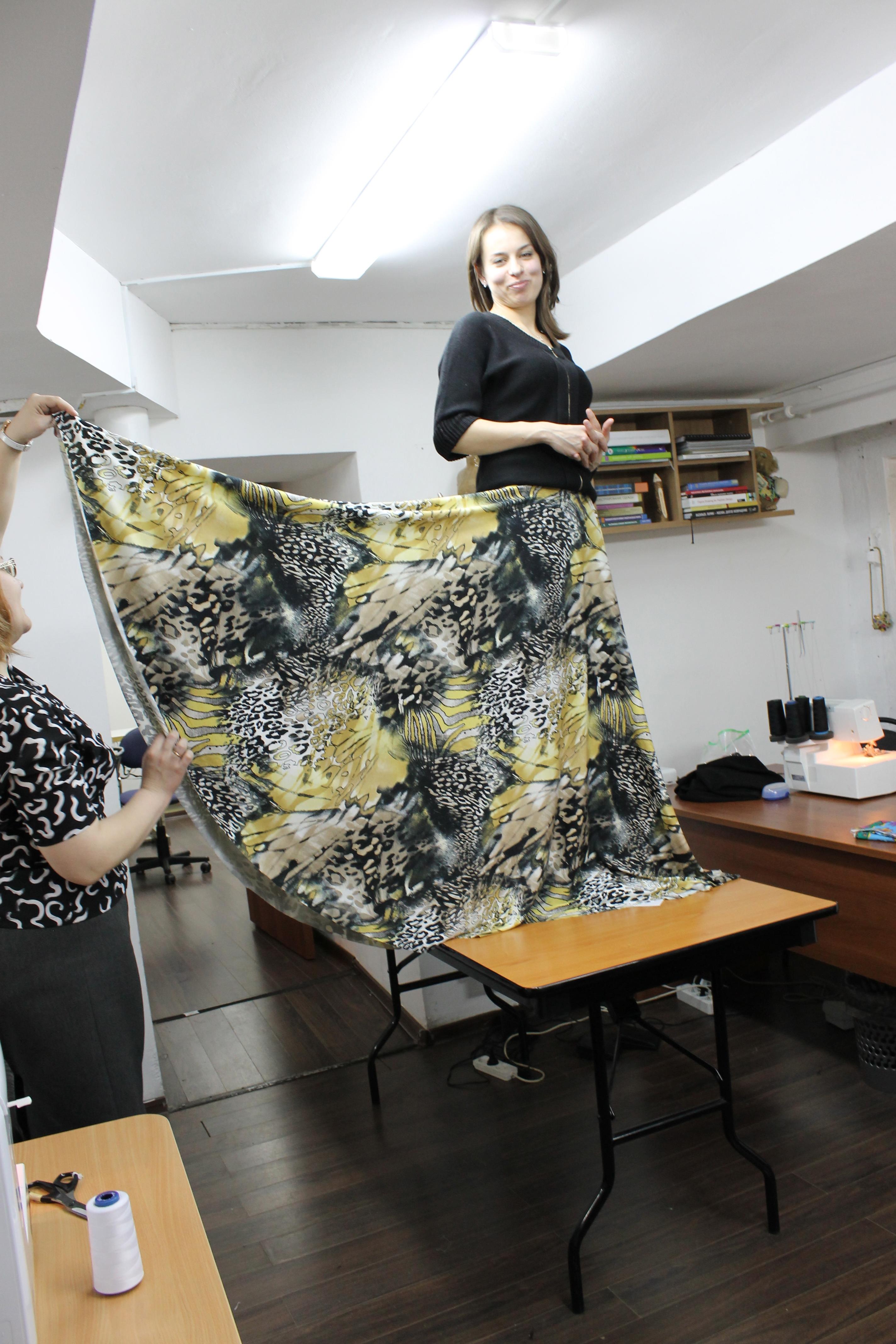 На курсах кройки и шитья Школа дизайнерского мастерства Елизаветы Добрицкой