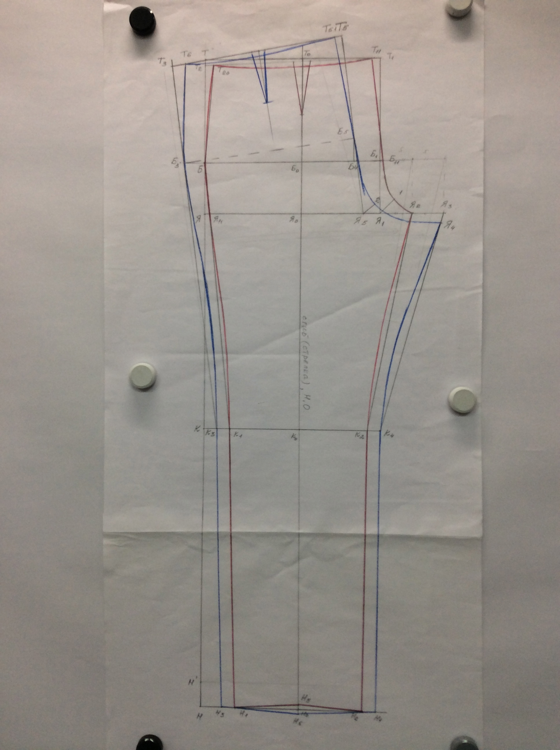 Курсы кройки и шитья Построение брюк в Школе дизайнерского мастертва