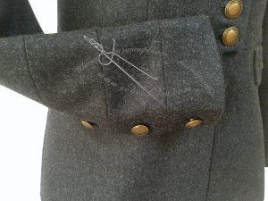 Шить жакет, пиджачный рукав со шлицей