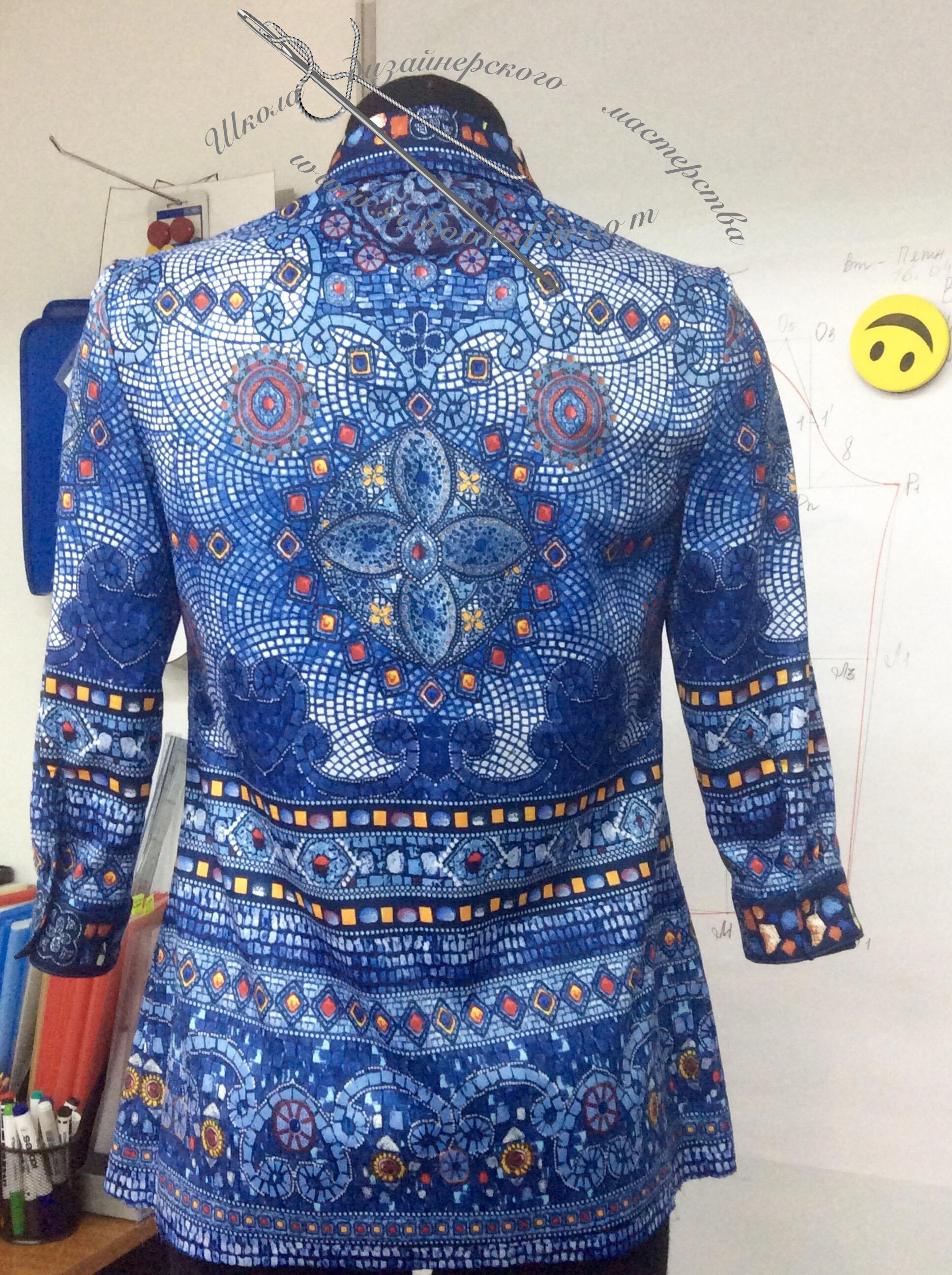 Шить блузку,Школа дизайнерского мастерства