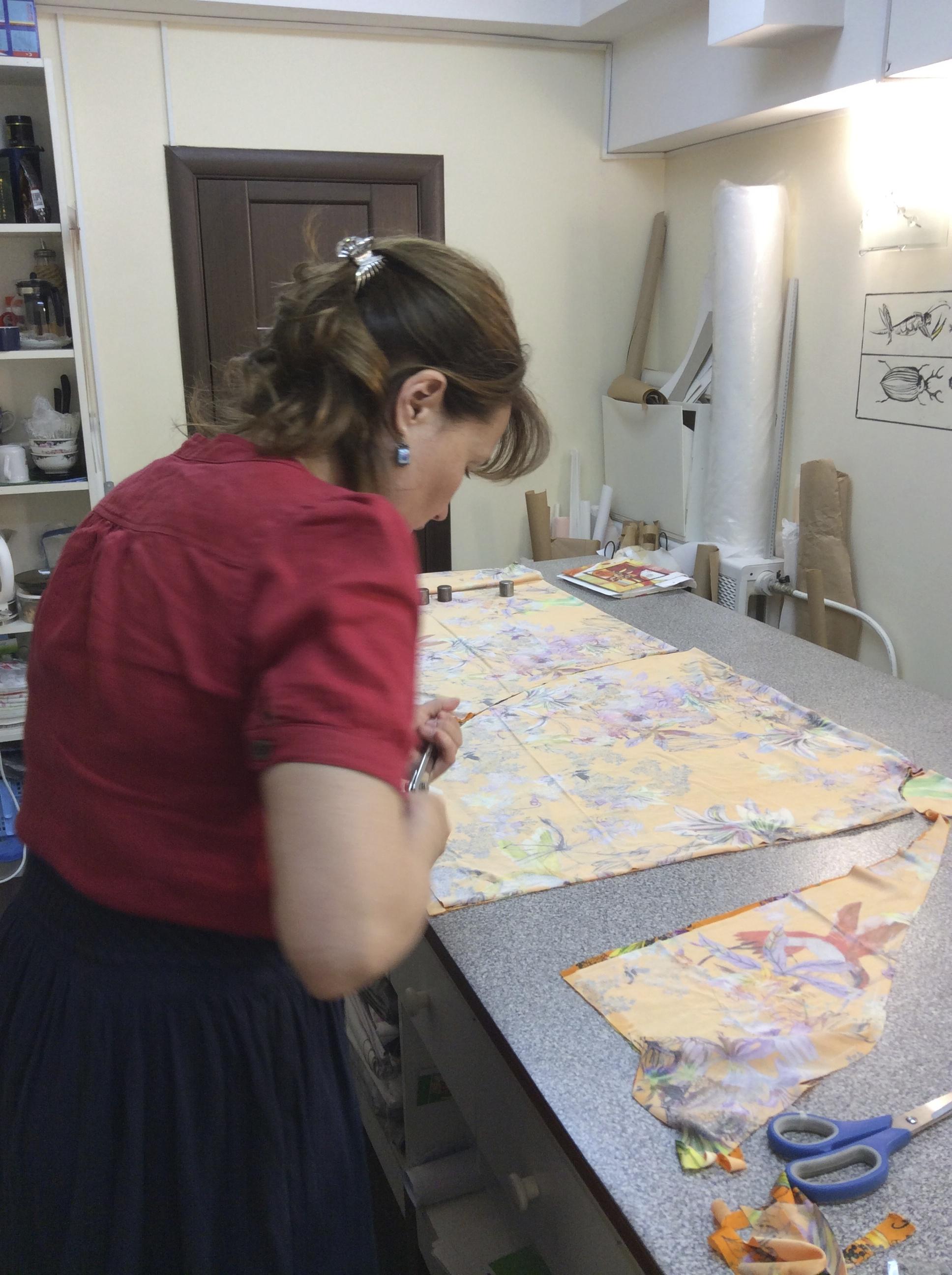 Кроить и шить на курсах Школа дизайнерского мастерства Елизаветы Добрицкой