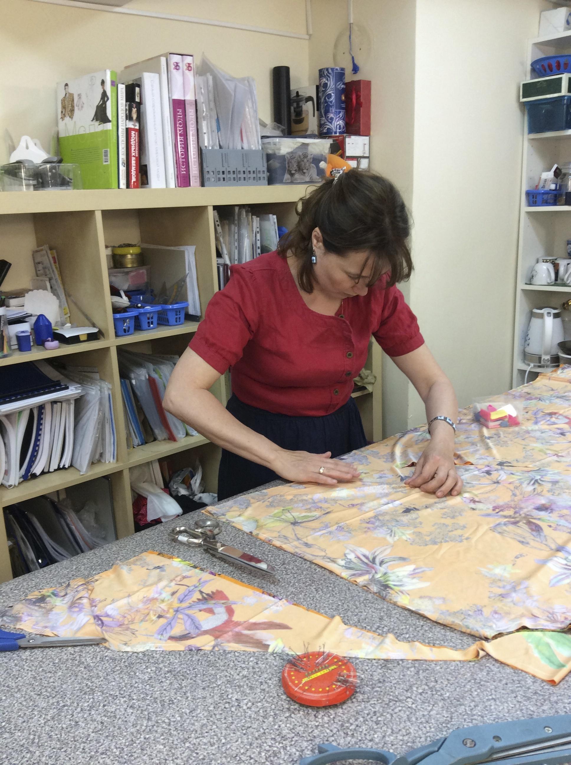 Крой юбки на курсах шитья Школа дизайнерского мастерства Елизаветы Добрицкой