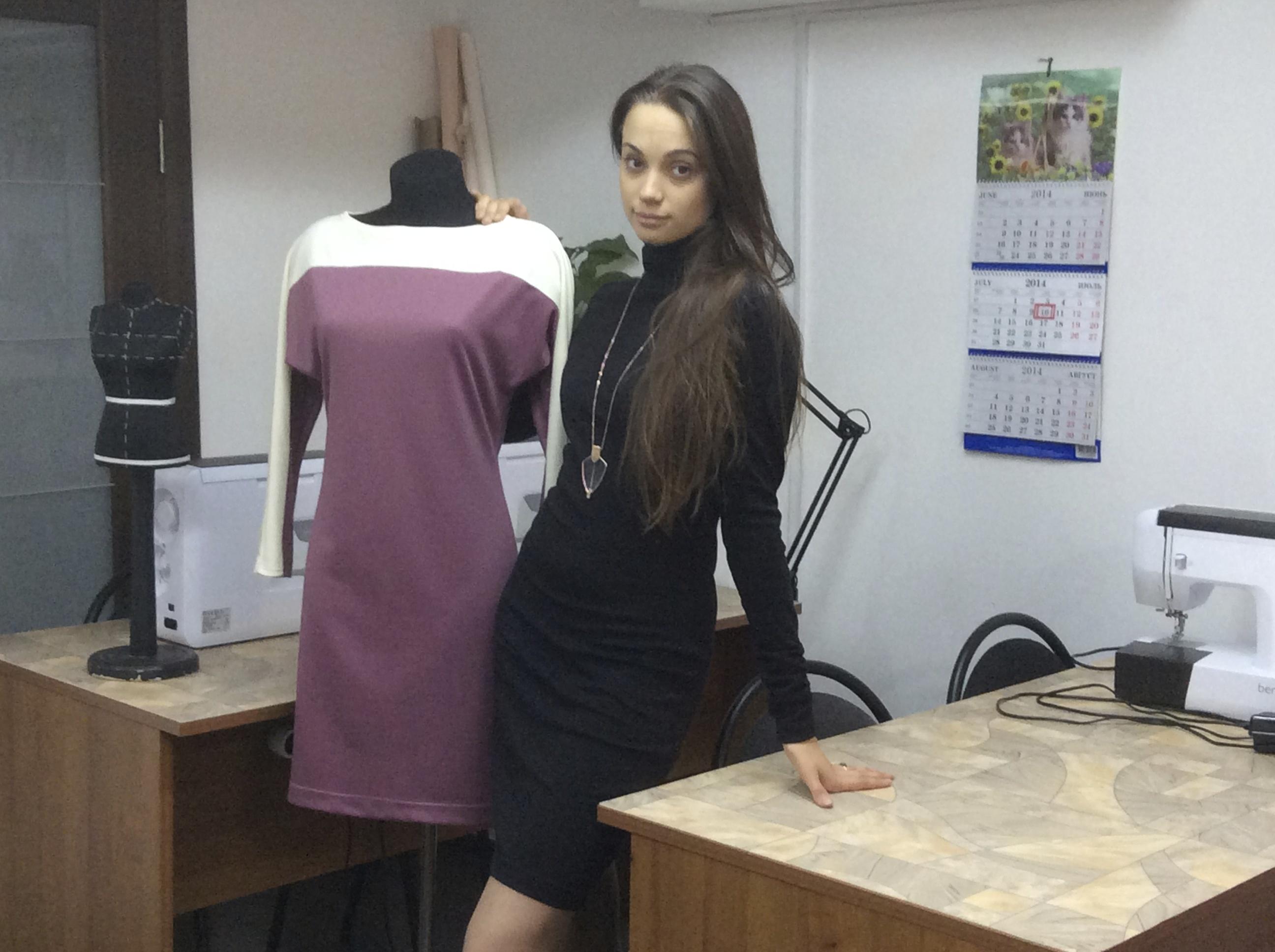 Платья сшитые на курсах кройки и шитья Школа дизайнерского мастерства Елизаветы Добрицкой