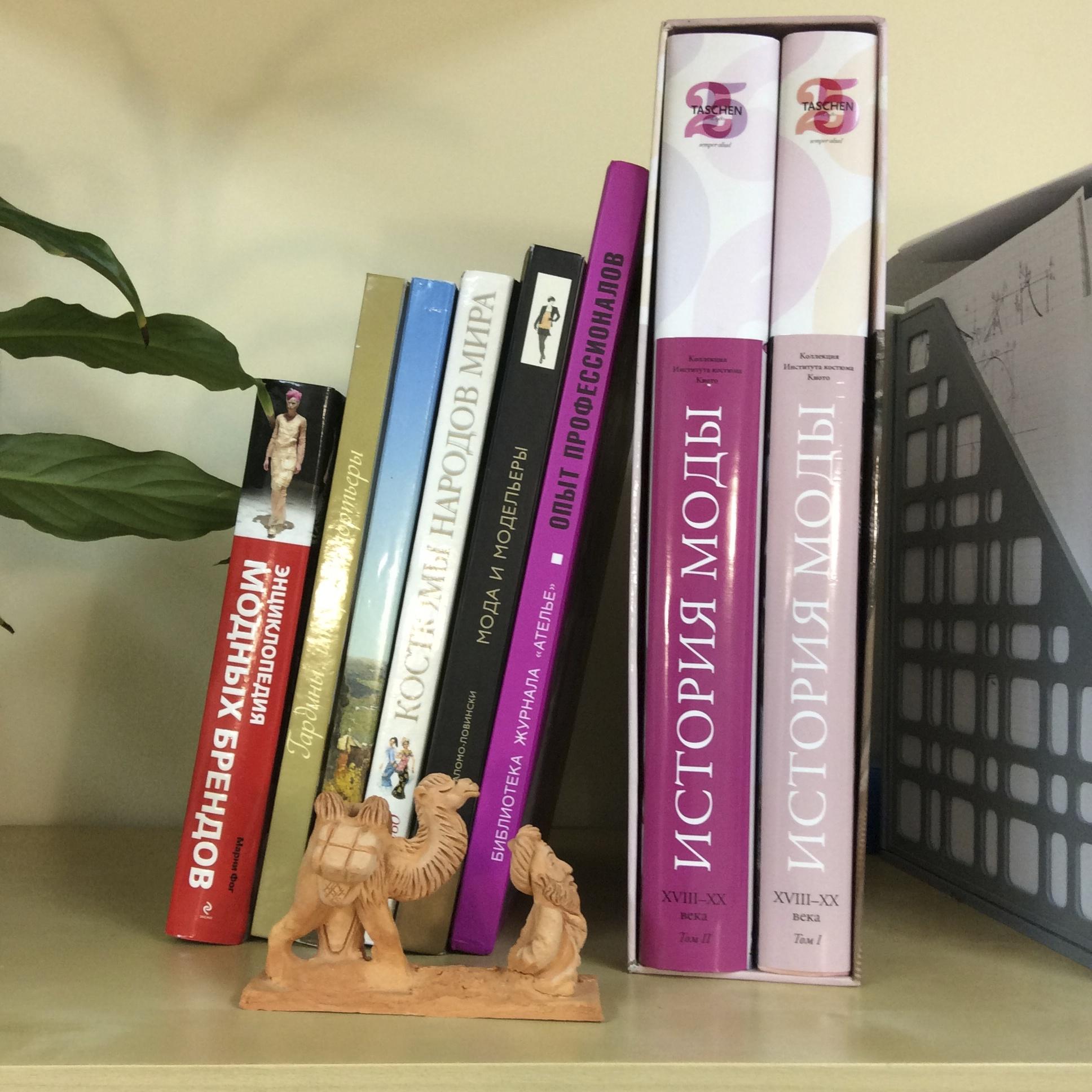 Книги в Школе дизайнерского мастерства