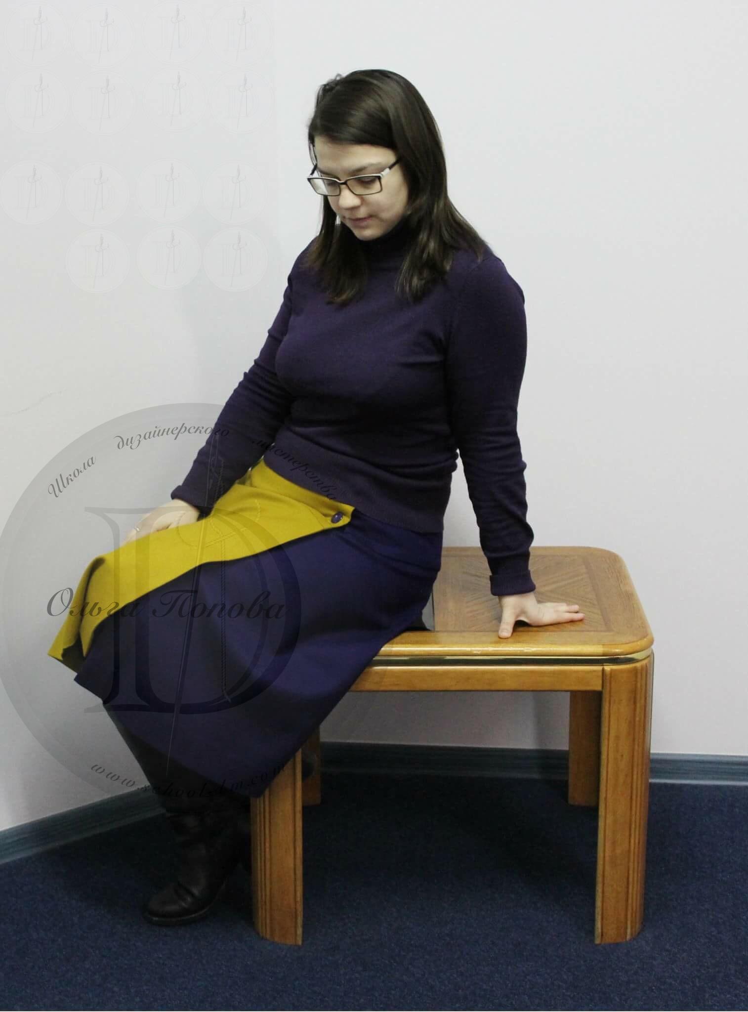 Шить юбку, курсы шитья, школа дизайнерского мастерства