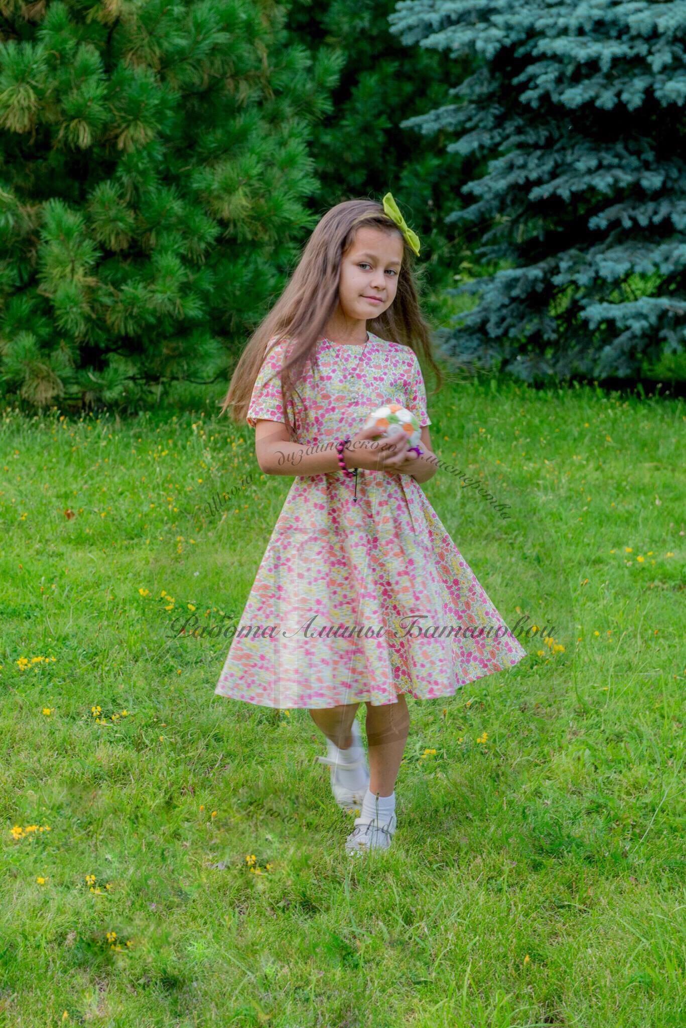 10 Школа дизайнерского мастерства, курсы шитья, шить самой, шить детское платье 10