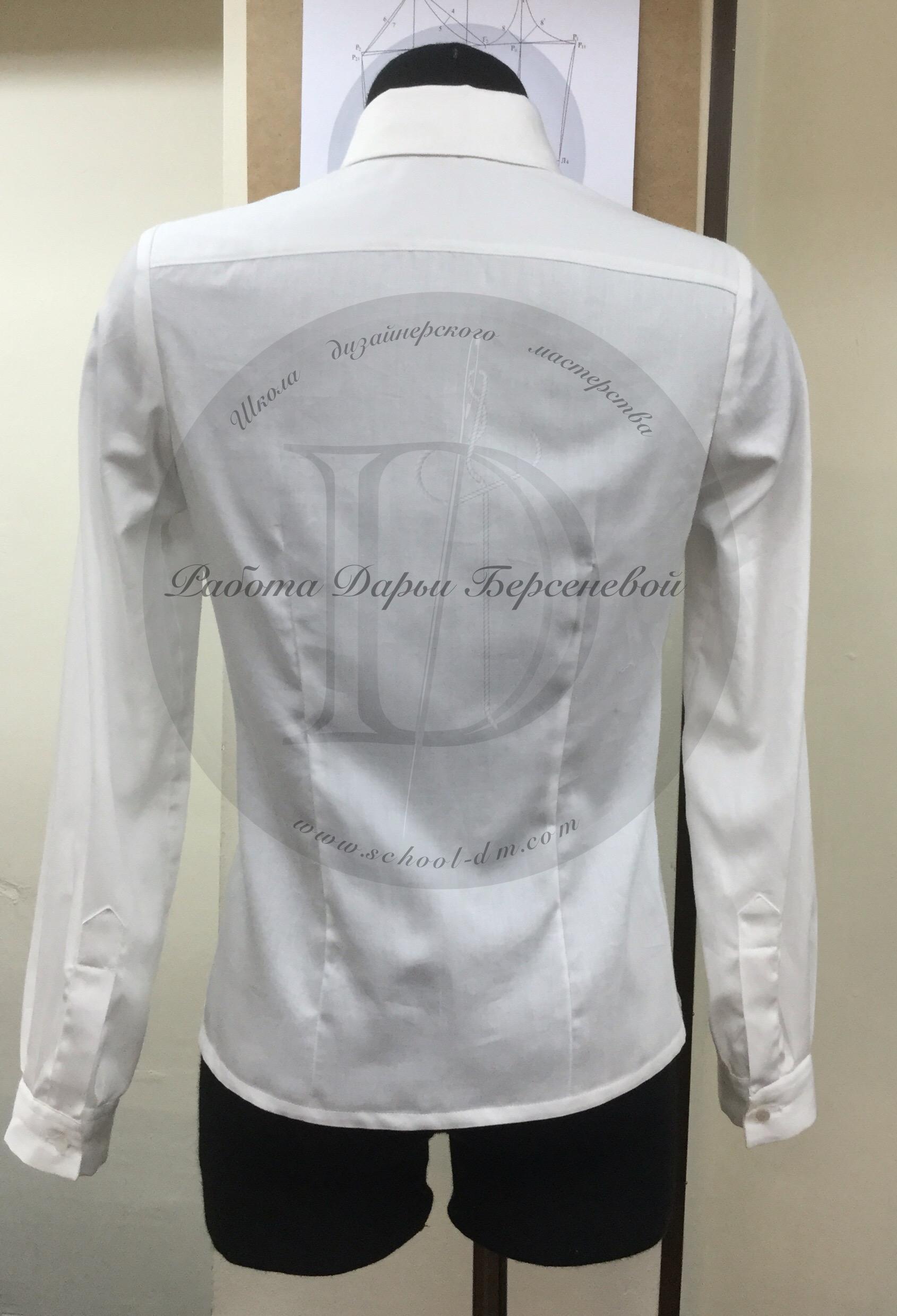 Школа дизайнерского мастерства, курсы кройки и шитья, женская блузка