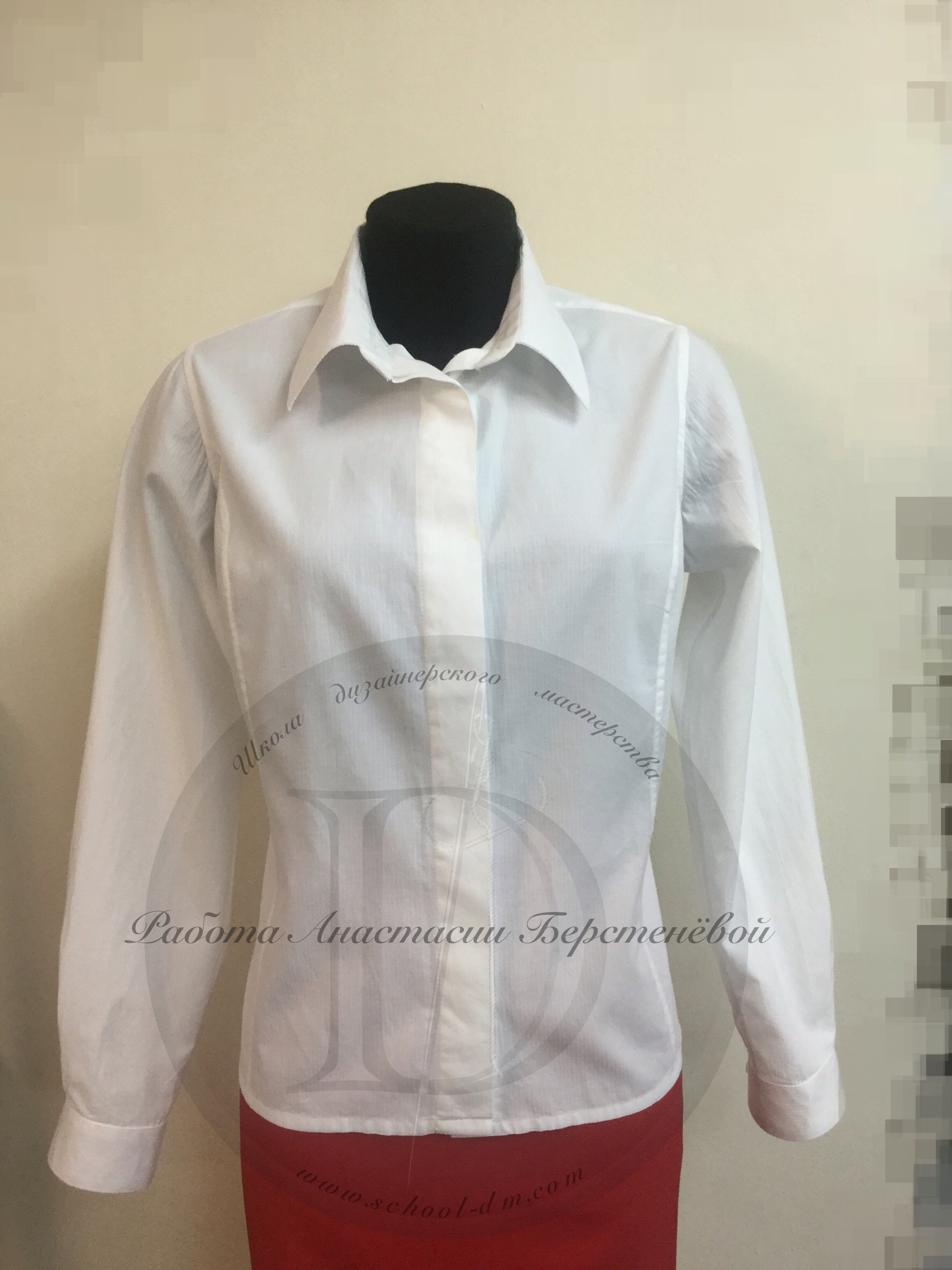 Школа дизайнерского мастерства, курсы кройки и шитья, женская блузка, шить блузку