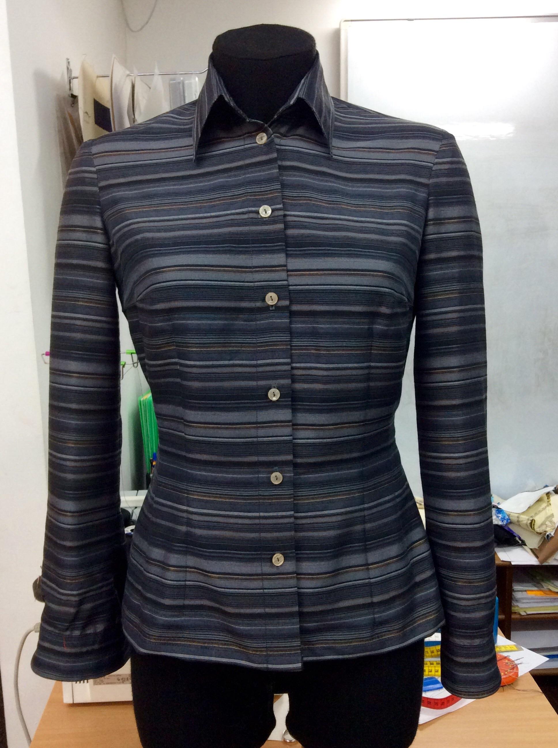 Шить блузку на курсах кройки и шитья Школа дизайнерского мастерства Елизаветы Добрицкой