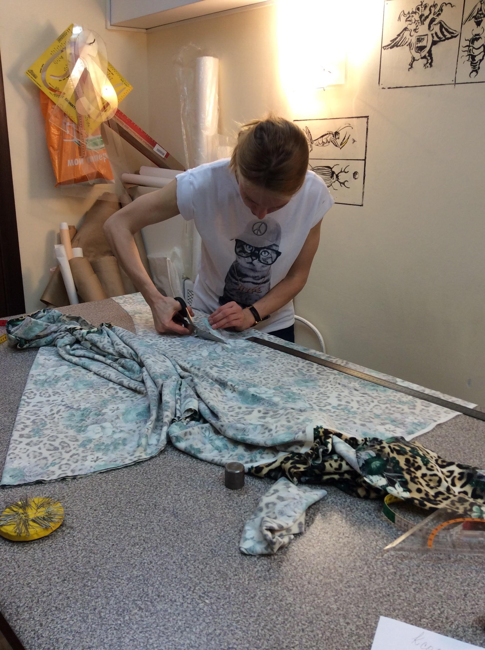 Курсы кройки и шитья Раскрой в Школе дизайнерского мастерства