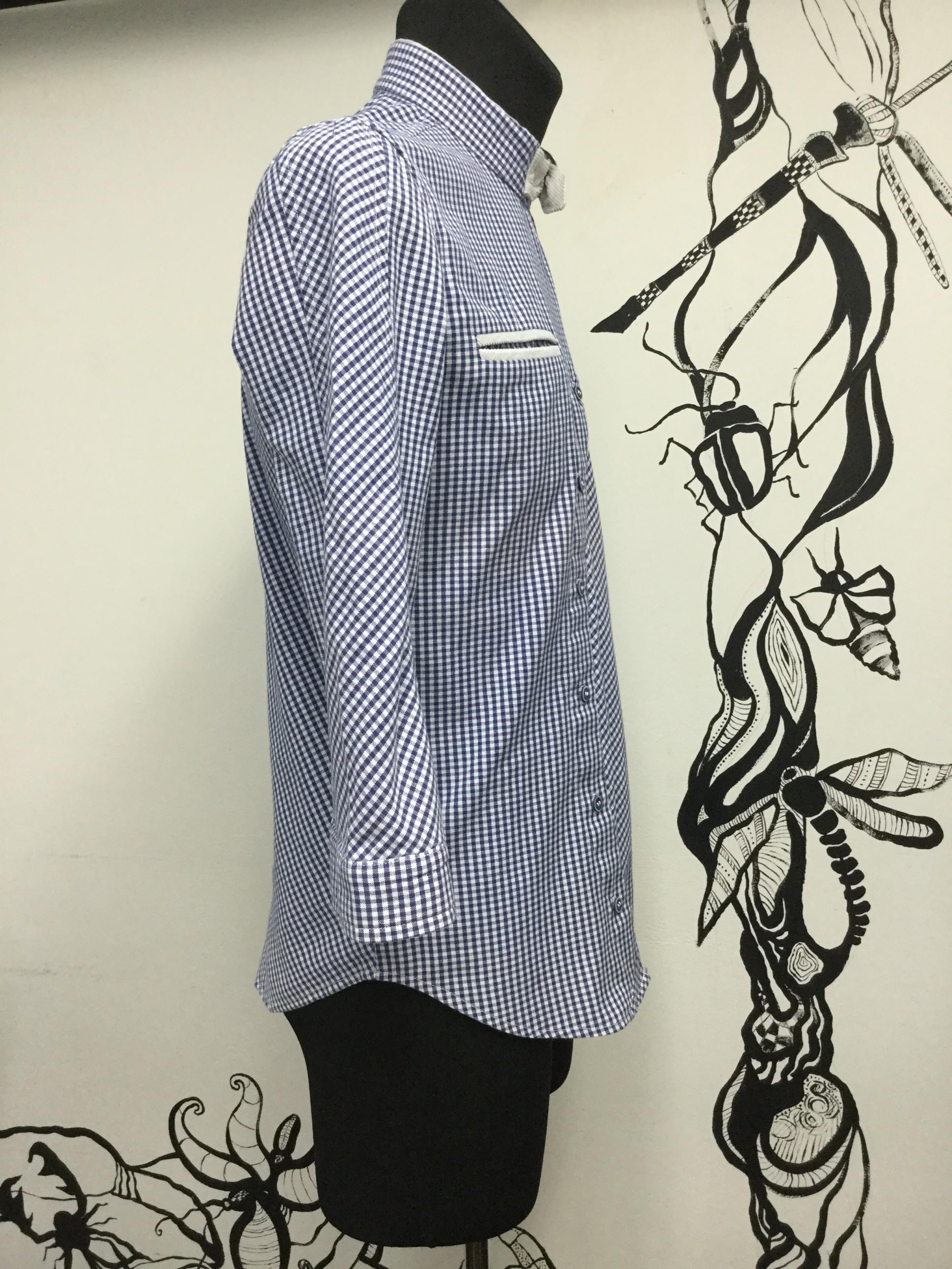 Мужская рубашка шить курсы кройки и шитья Школа дизайнерского мастерства Елизаветы Добрицкой