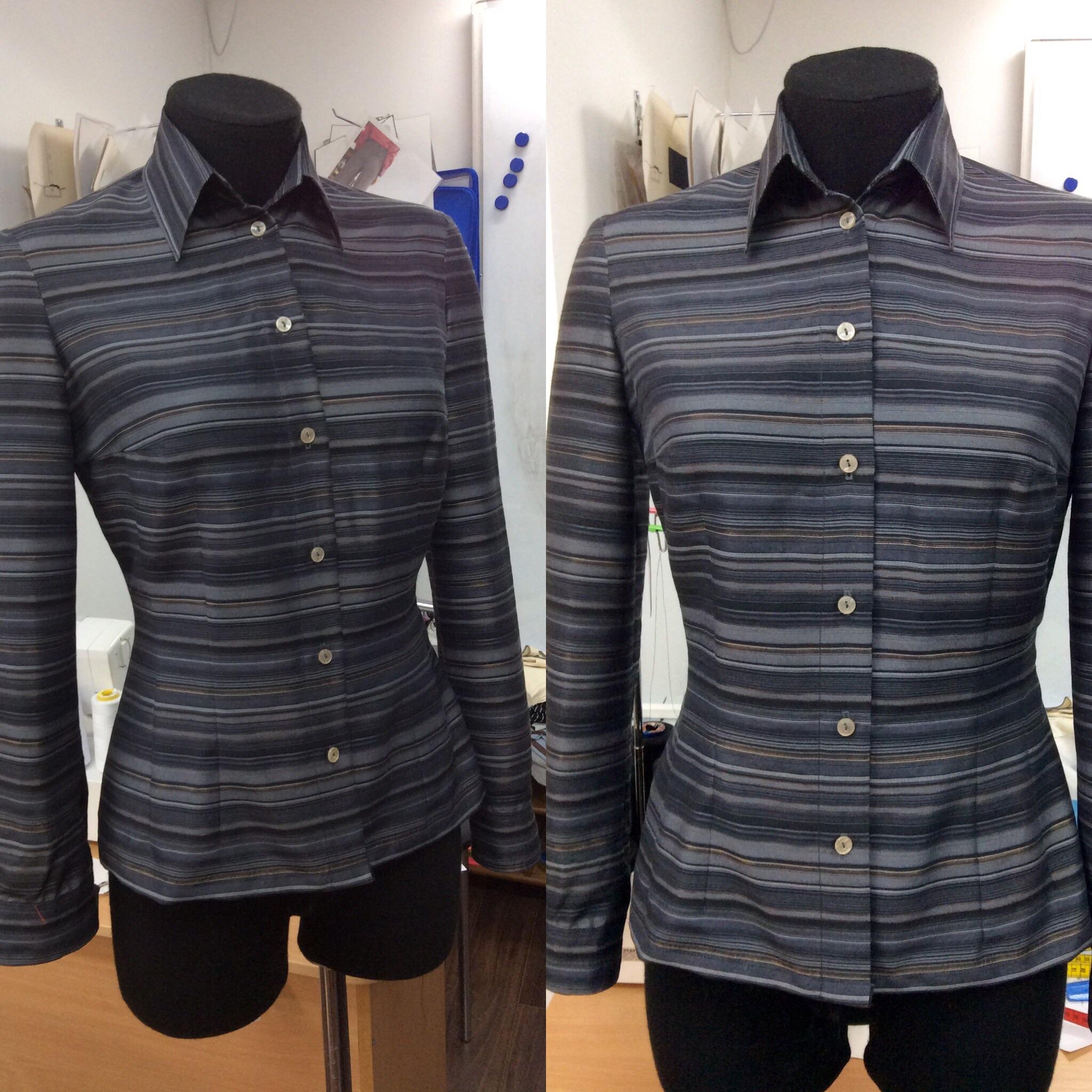 Блузка на курсах кройки и шитья Школа дизайнерского мастерства Елизаветы Добрицкой