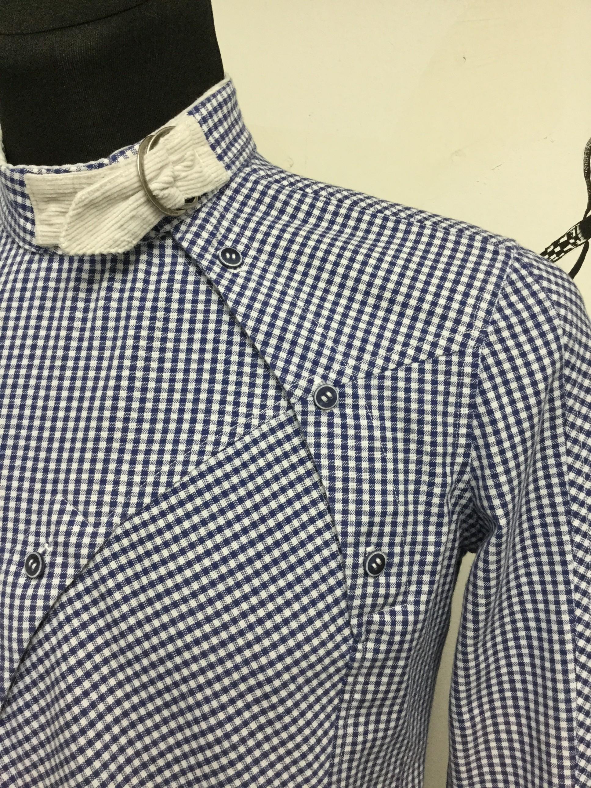 Обработка мужской рубашки курсы кройки и шитья Школа дизайнерского мастерства Елизаветы Добрицкой